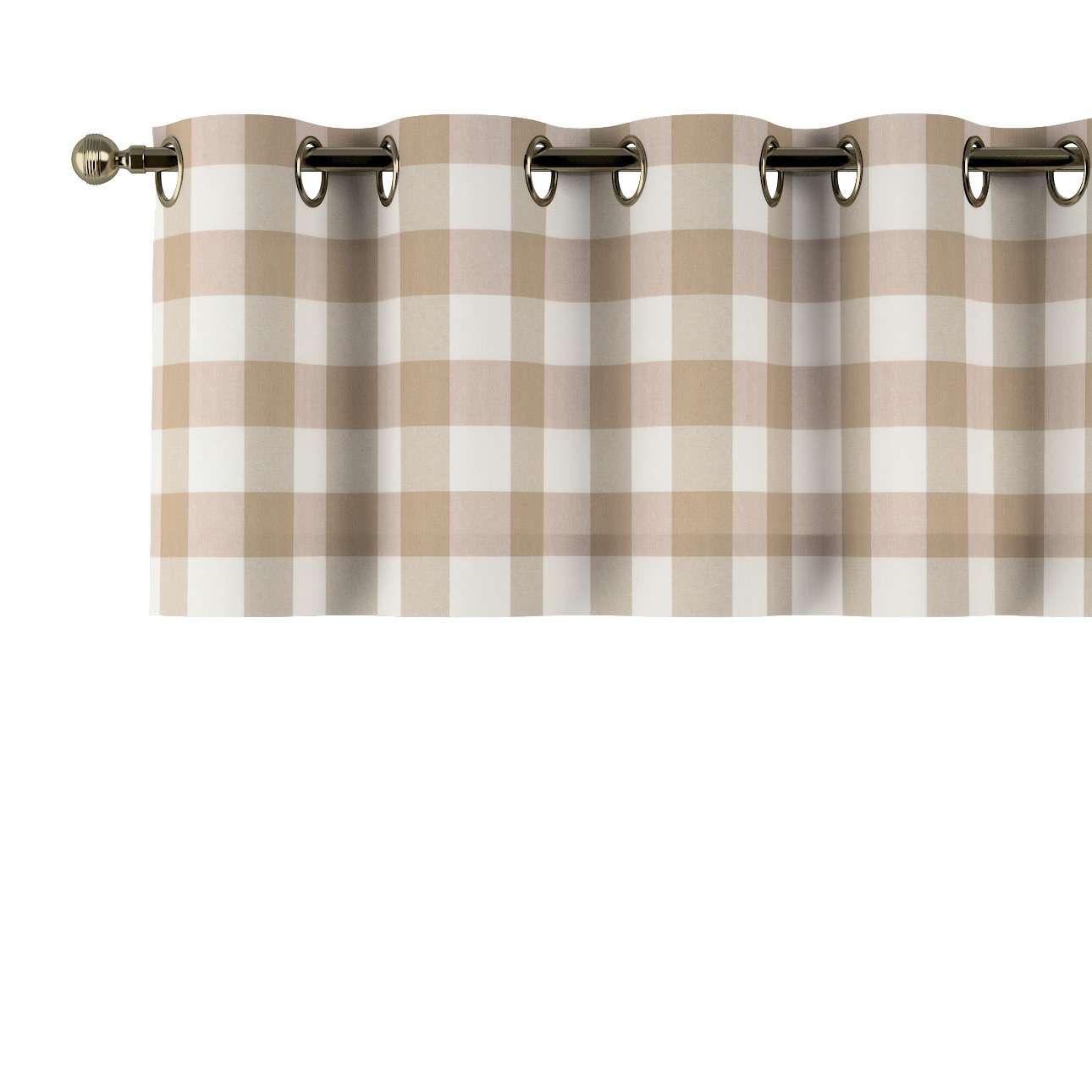 Lambrekin na kółkach 130x40cm w kolekcji Quadro, tkanina: 136-08