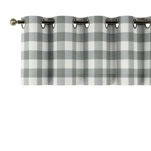 Lambrekin na kółkach 130x40cm w kolekcji Quadro, tkanina: 136-13
