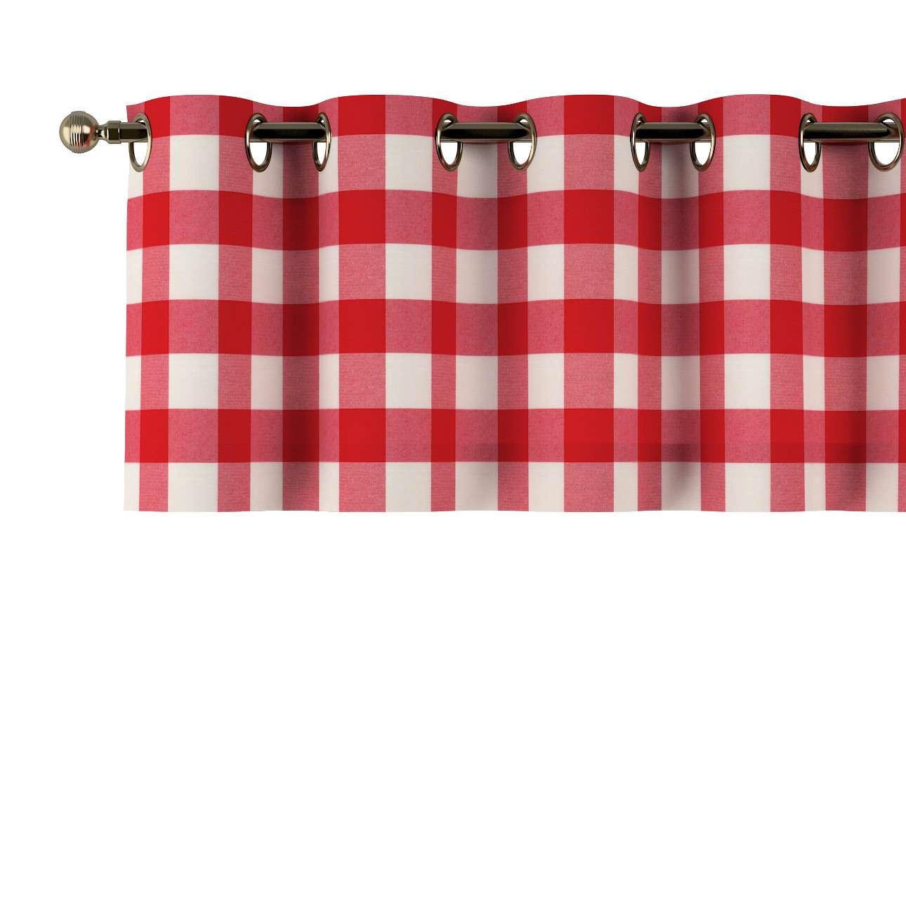 Lambrekin na kółkach 130x40cm w kolekcji Quadro, tkanina: 136-18