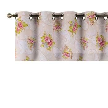 Kurzgardine mit Ösen 130x40cm von der Kollektion Flowers, Stoff: 311-15