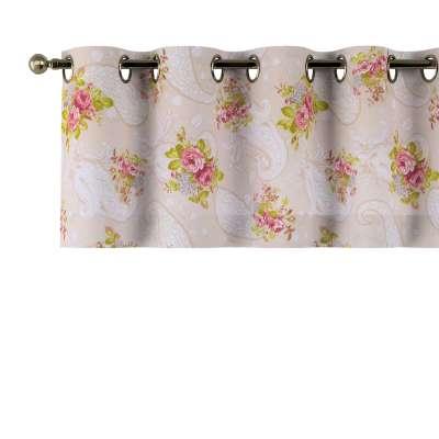 Kurzgardine mit Ösen von der Kollektion Flowers, Stoff: 311-15