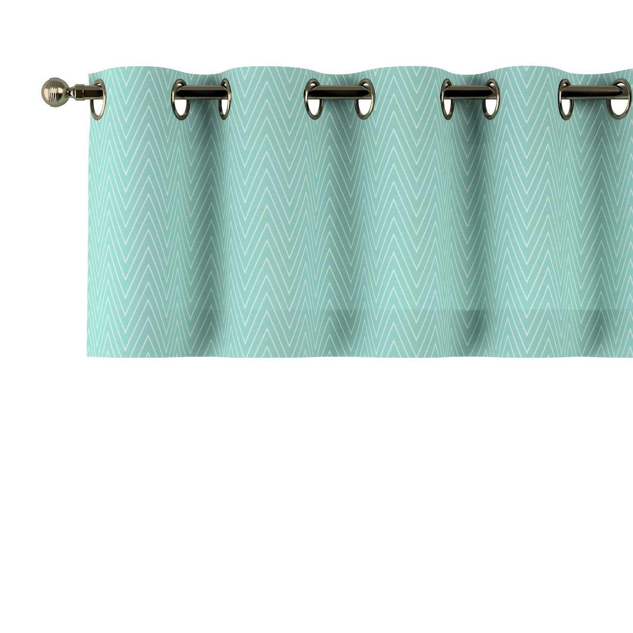 Gardinkappa med öljetter 130 × 40 cm i kollektionen Brooklyn , Tyg: 137-90