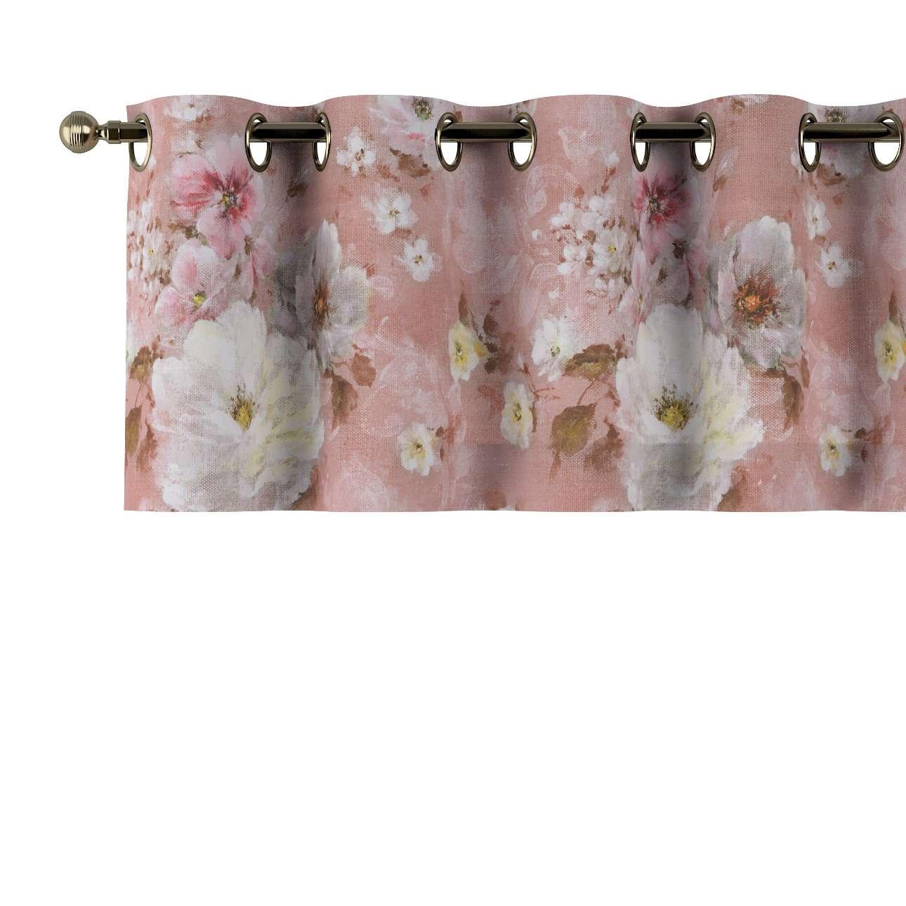 Gardinkappa med öljetter 130x40cm i kollektionen Monet , Tyg: 137-83