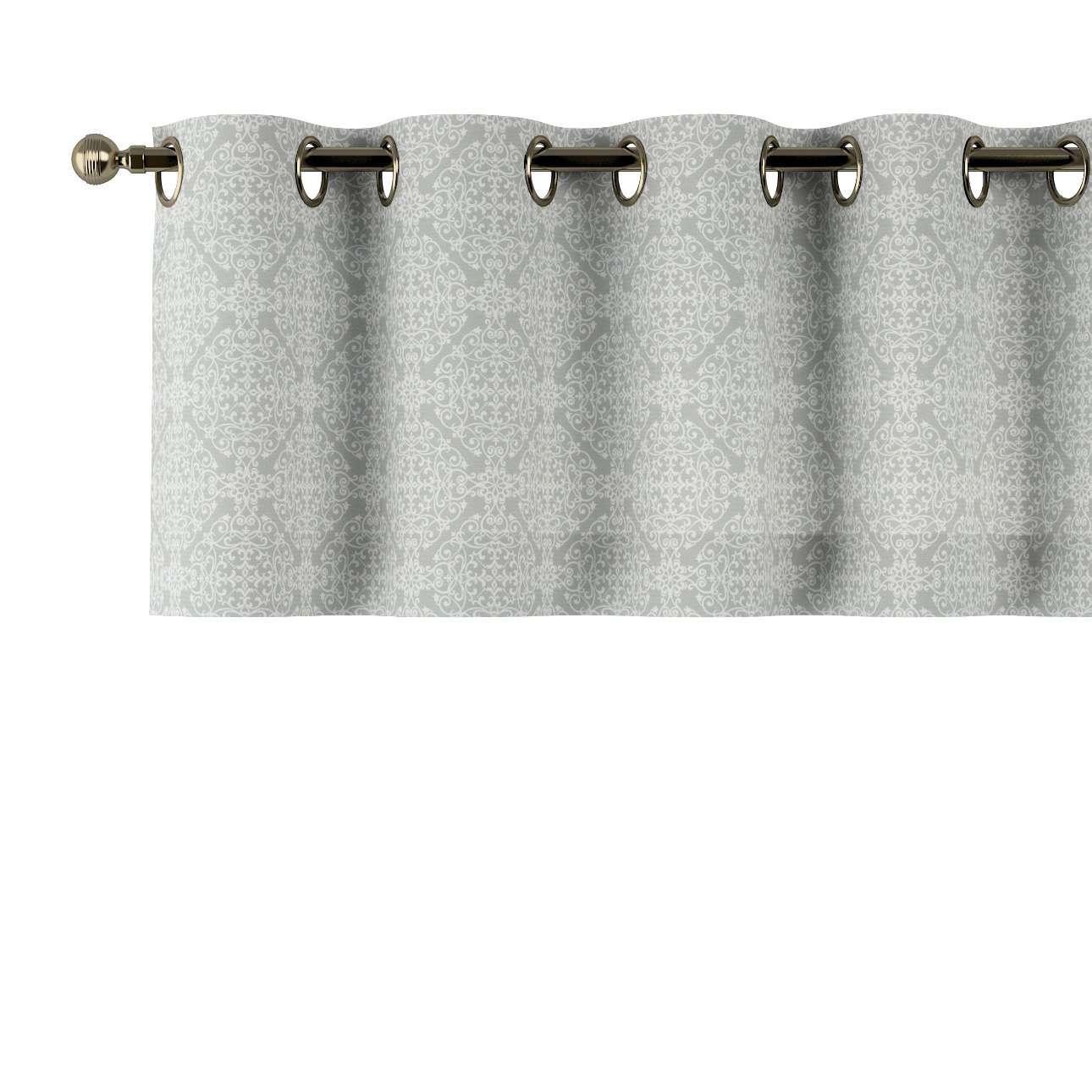 Gardinkappe med kovser fra kollektionen Flowers, Stof: 140-38