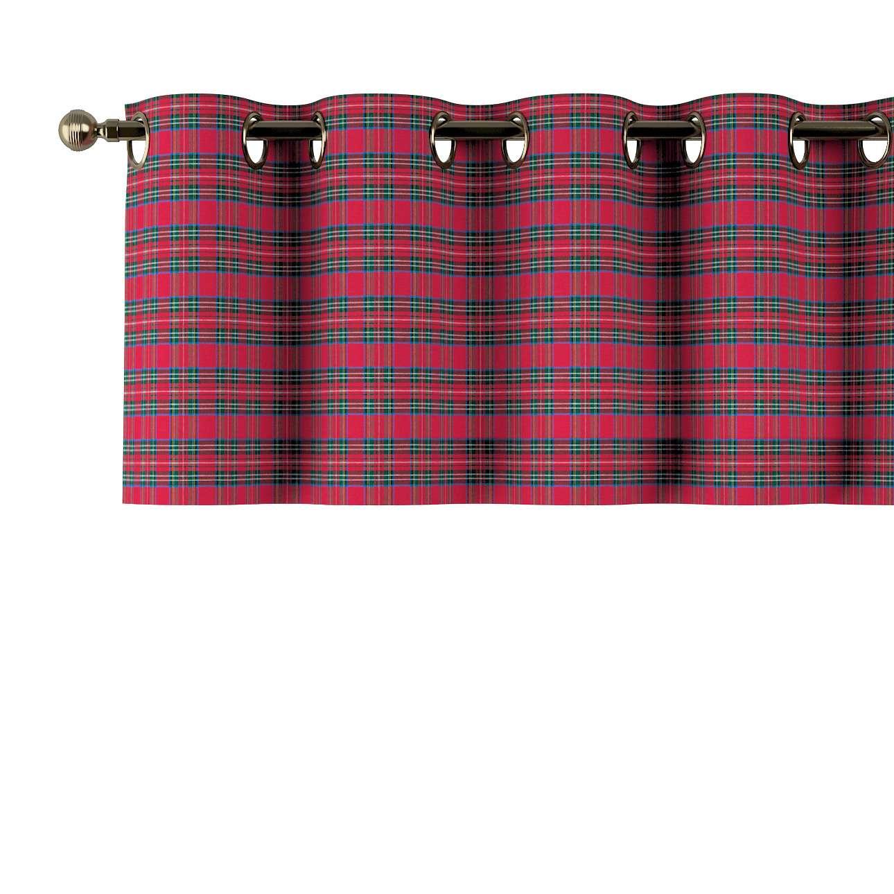 Gardinkappa med öljetter 130x40cm i kollektionen Bristol, Tyg: 126-29