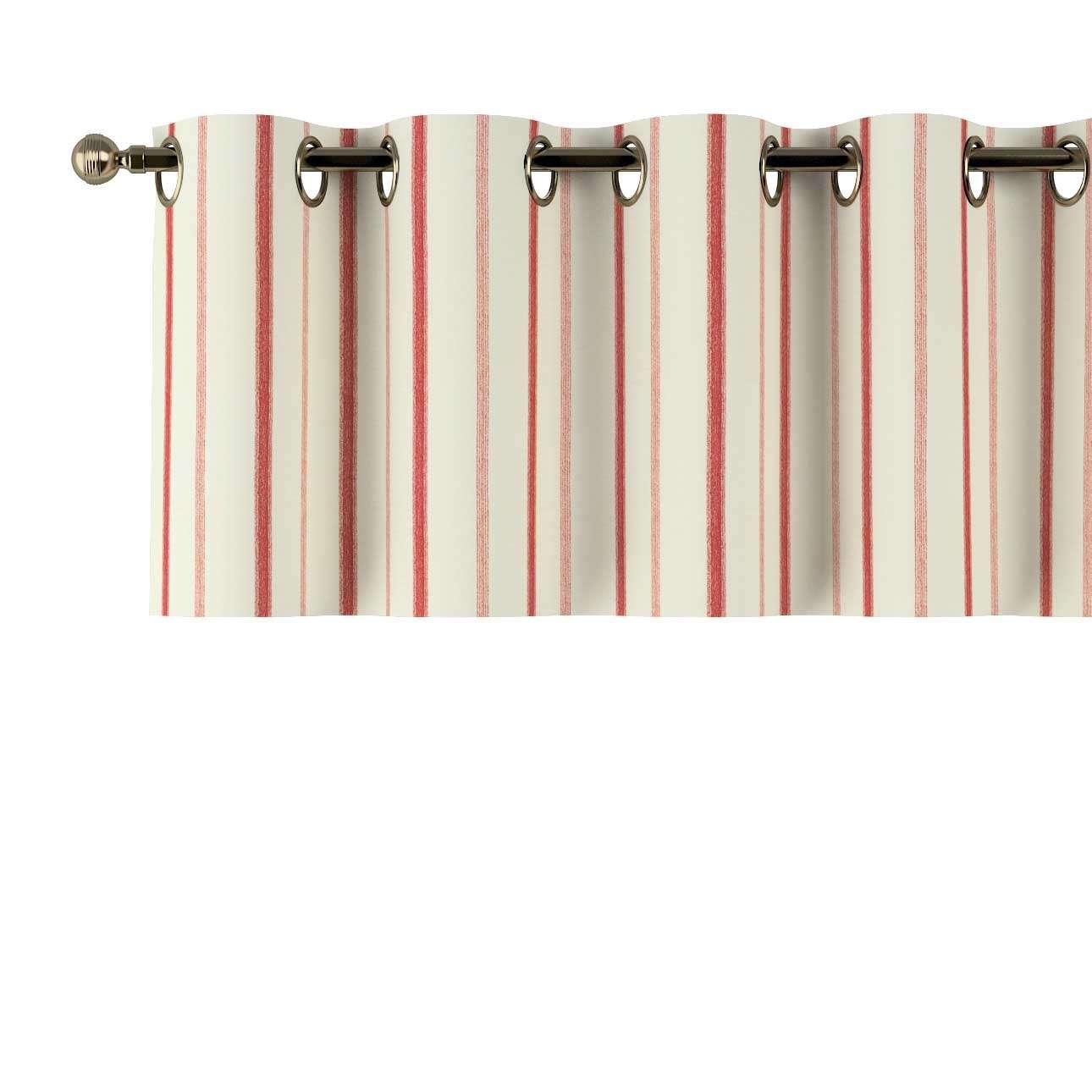 Gardinkappa med öljetter 130 × 40 cm i kollektionen Avinon, Tyg: 129-15