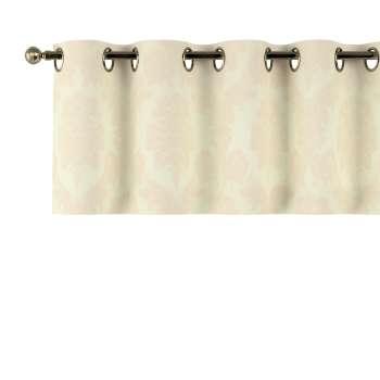 Gardinkappa med öljetter 130 × 40 cm i kollektionen Damasco, Tyg: 613-01