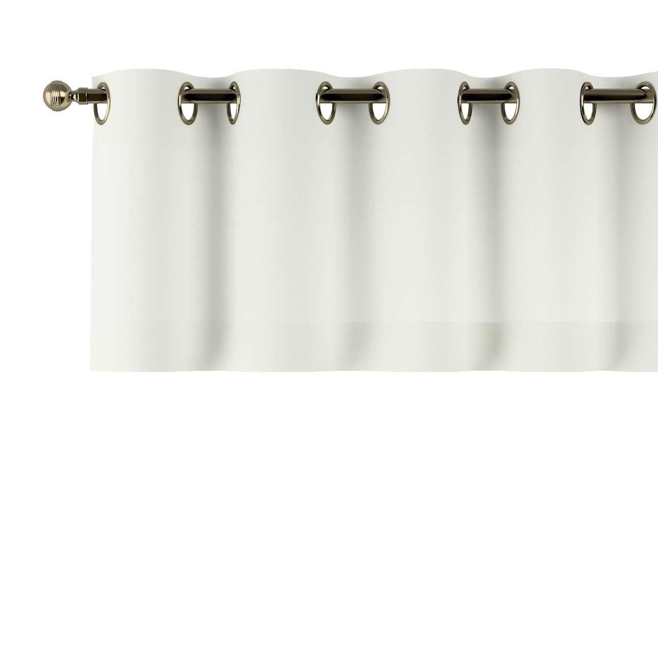 Gardinkappa med öljetter 130 × 40 cm i kollektionen Jupiter, Tyg: 127-00
