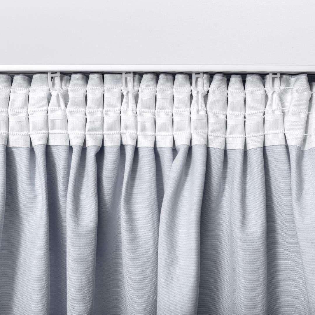Zasłona na taśmie marszczącej 1 szt. w kolekcji Black & White, tkanina: 142-78