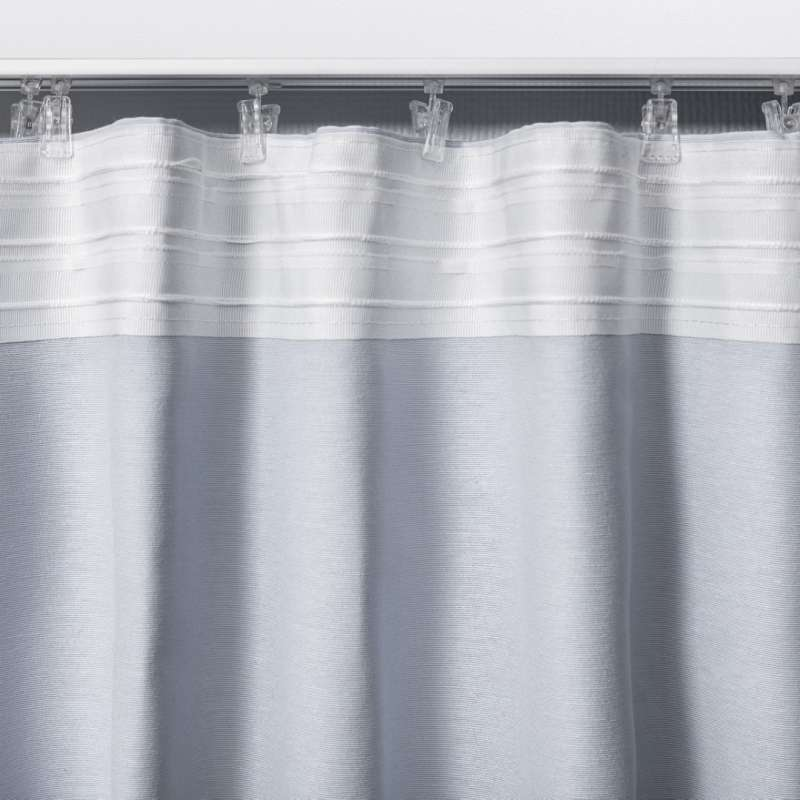 Pencil pleat curtain in collection Blackout, fabric: 269-17