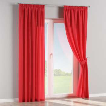 Pencil pleat curtains 130 x 260 cm (51 x 102 inch) in collection Jupiter, fabric: 127-14