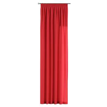 Pencil pleat curtains in collection Jupiter, fabric: 127-14