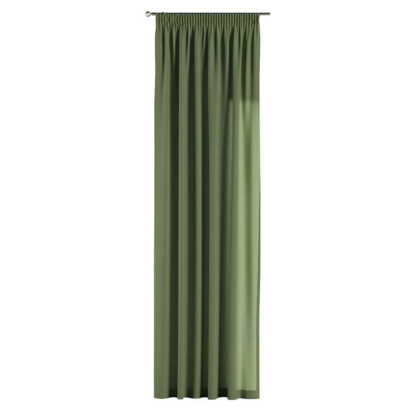 Pencil pleat curtain in collection Jupiter, fabric: 127-52