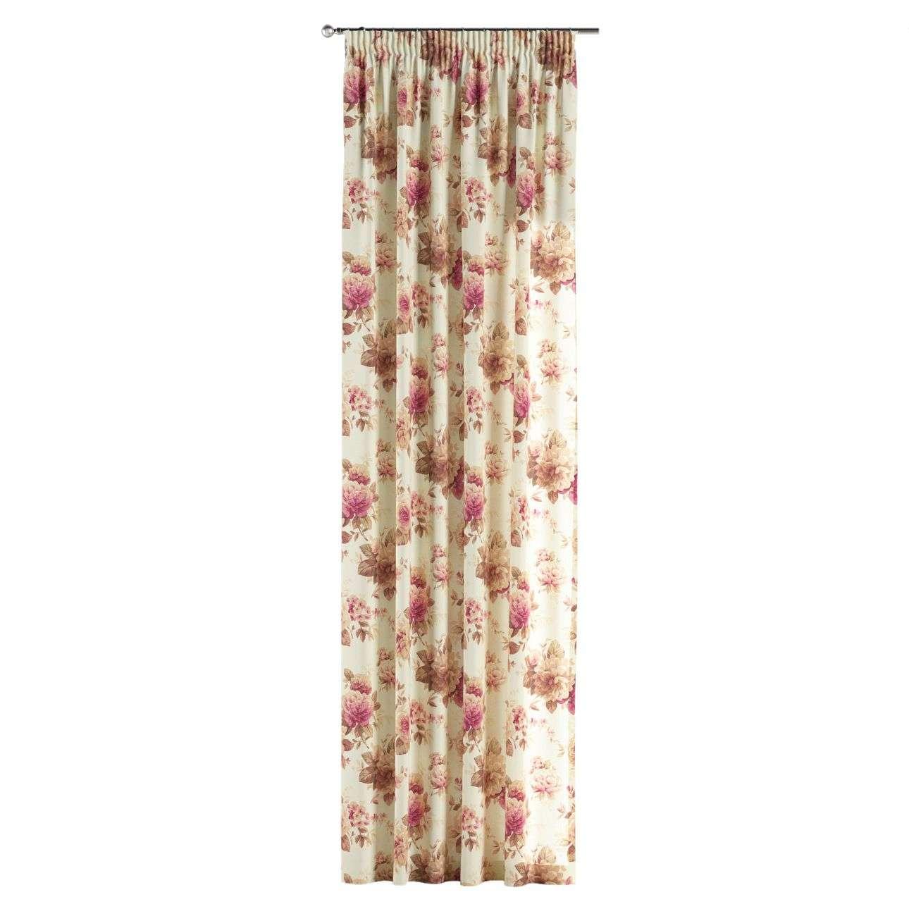 Függöny ráncolóval 130 x 260 cm a kollekcióból Bútorszövet Mirella, Dekoranyag: 141-06