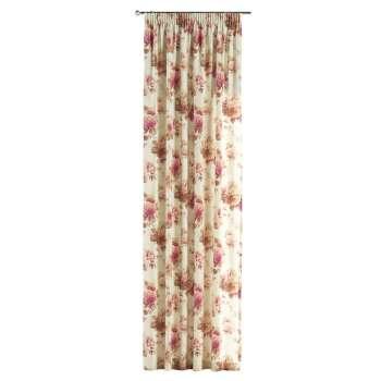 Vorhang mit Kräuselband von der Kollektion Mirella, Stoff: 141-06