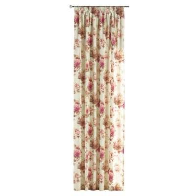 Vorhang mit Kräuselband von der Kollektion Londres, Stoff: 141-06