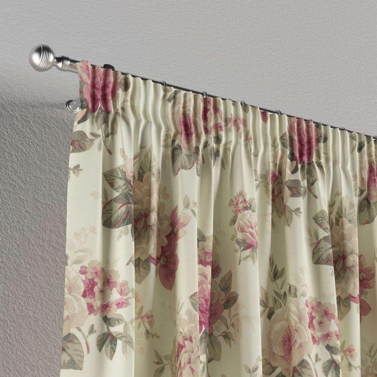 Vorhang mit Kräuselband 130 x 260 cm von der Kollektion Mirella, Stoff: 141-07