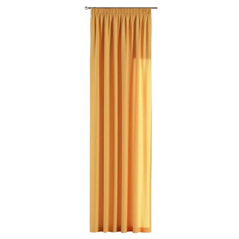 Pencil pleat curtain in collection Jupiter, fabric: 127-46