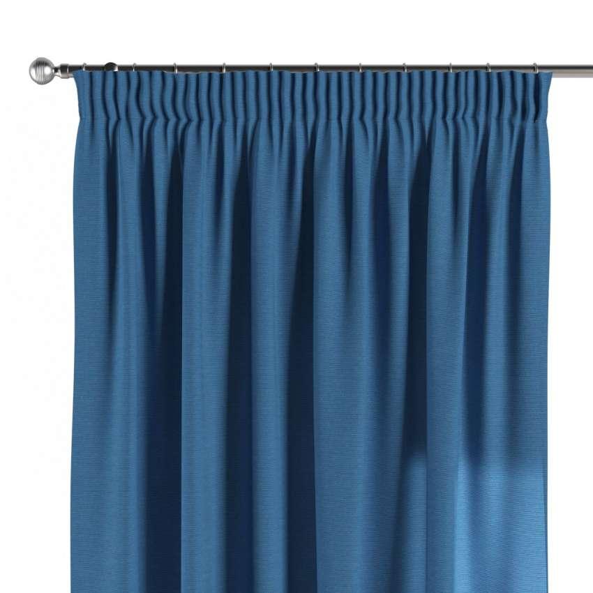 vorhang mit kr uselband royalblau dekoria. Black Bedroom Furniture Sets. Home Design Ideas