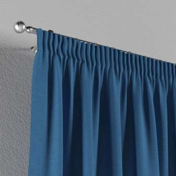 Pencil pleat curtains in collection Jupiter, fabric: 127-61