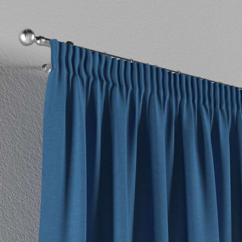 Pencil pleat curtain in collection Jupiter, fabric: 127-61