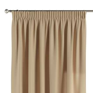 Vorhang mit Kräuselband 1 Stck. 130 x 260 cm von der Kollektion Cotton Panama, Stoff: 702-01