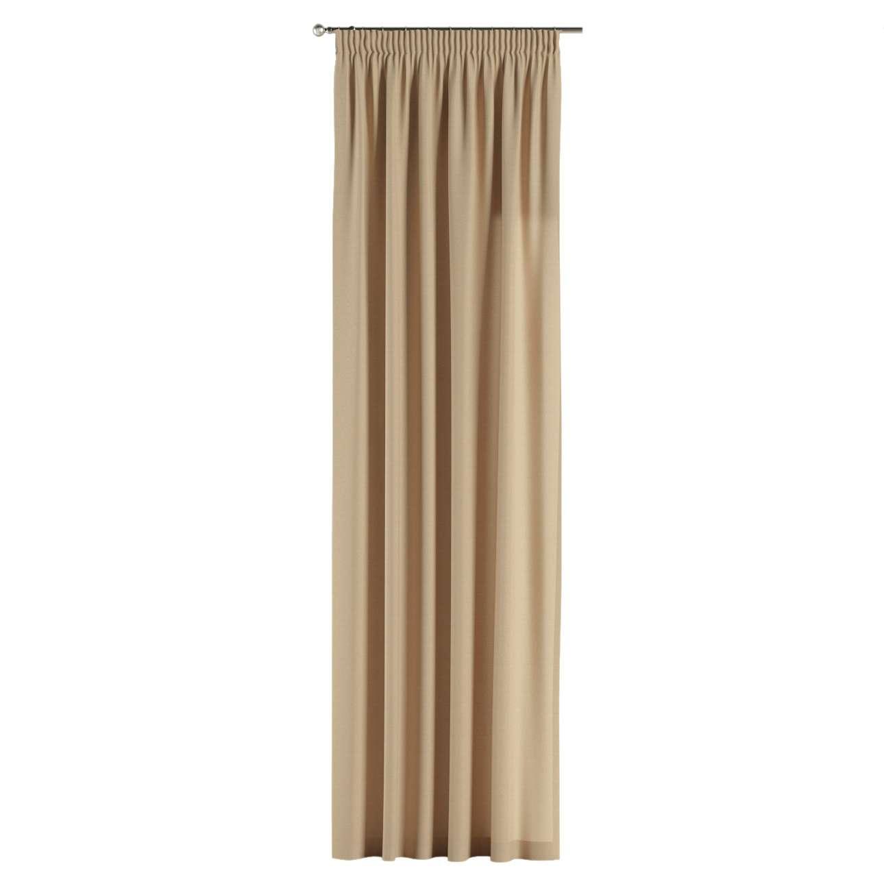 Függöny ráncolóval 130 x 260 cm a kollekcióból Bútorszövet Cotton Panama, Dekoranyag: 702-01