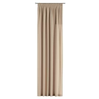 Gardin med rynkebånd 130 × 260 cm fra kollektionen Cotton Panama, Stof: 702-01