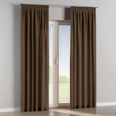 Pencil pleat curtains in collection Panama Cotton, fabric: 702-02