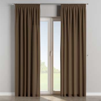 Pencil pleat curtains 130 x 260 cm (51 x 102 inch) in collection Cotton Panama, fabric: 702-02