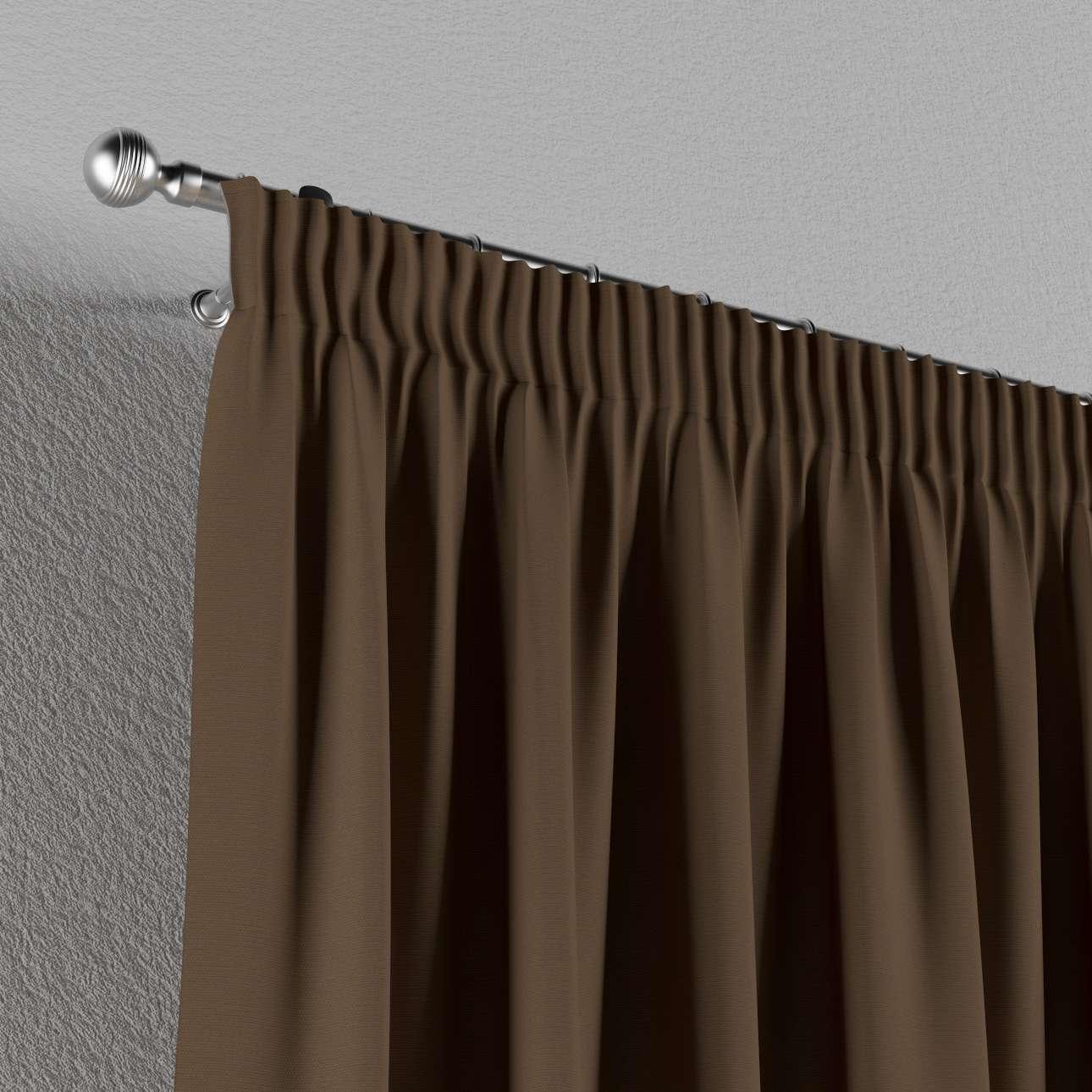 Függöny ráncolóval 130 x 260 cm a kollekcióból Bútorszövet Cotton Panama, Dekoranyag: 702-02