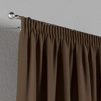 Gardin med rynkebånd 130 x 260 cm fra kollektionen Cotton Panama, Stof: 702-02