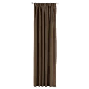 Vorhang mit Kräuselband 130 x 260 cm von der Kollektion Cotton Panama, Stoff: 702-02