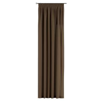 Gardin med rynkband 1 längd 130 x 260 cm i kollektionen Panama Cotton , Tyg: 702-02