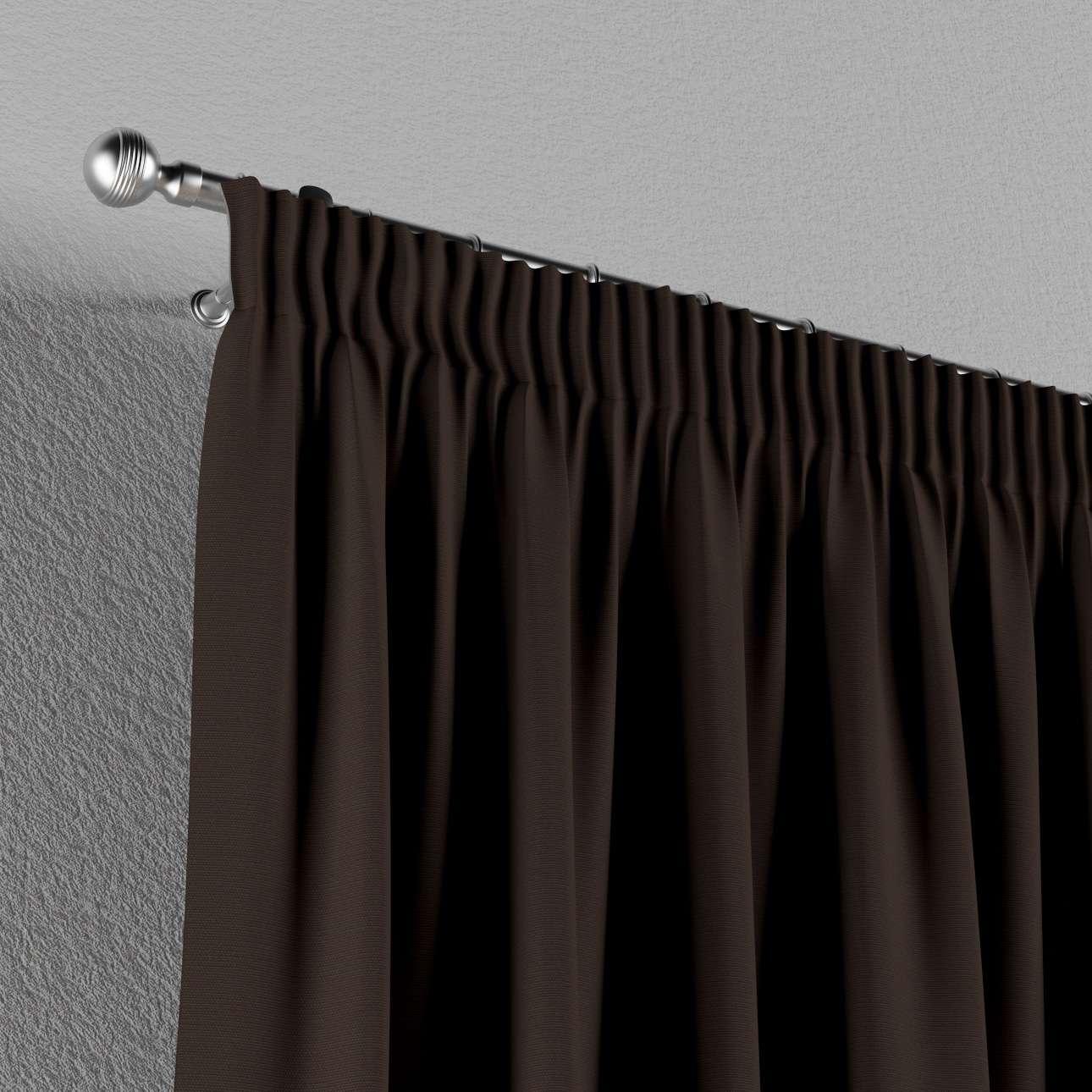 Gardin med rynkband 1 längd i kollektionen Panama Cotton, Tyg: 702-03