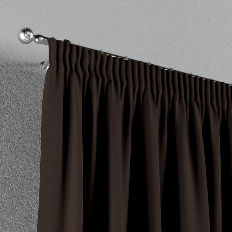 Pencil pleat curtain in collection Panama Cotton, fabric: 702-03
