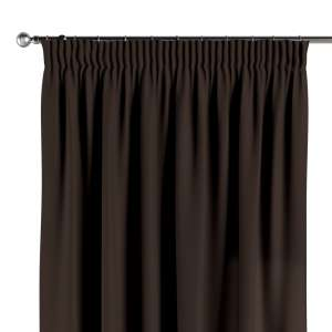 Pencil pleat curtains 130 x 260 cm (51 x 102 inch) in collection Cotton Panama, fabric: 702-03