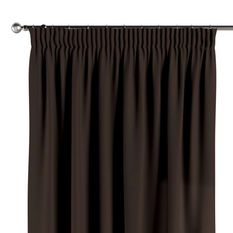 Vorhang mit Kräuselband von der Kollektion Cotton Panama, Stoff: 702-03
