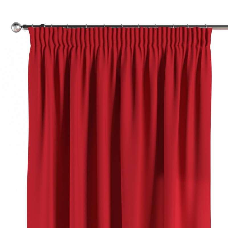 Vorhang mit Kräuselband von der Kollektion Cotton Panama, Stoff: 702-04
