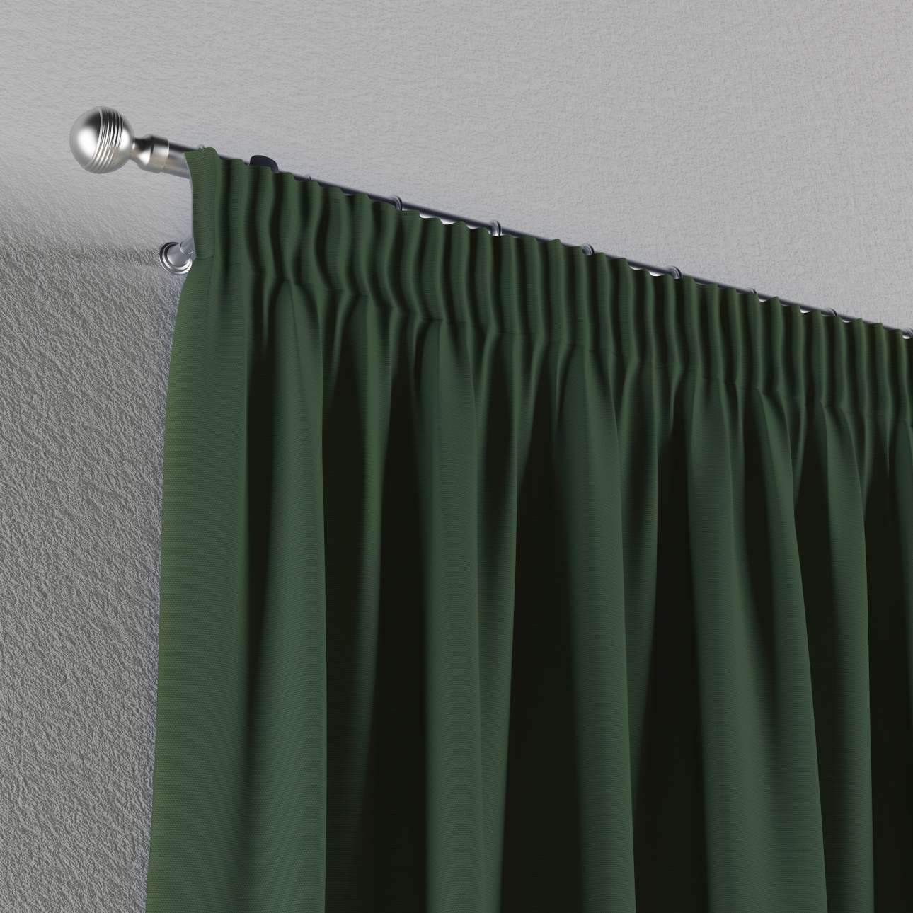Gardin med rynkband 1 längd 130 x 260 cm i kollektionen Panama Cotton , Tyg: 702-06