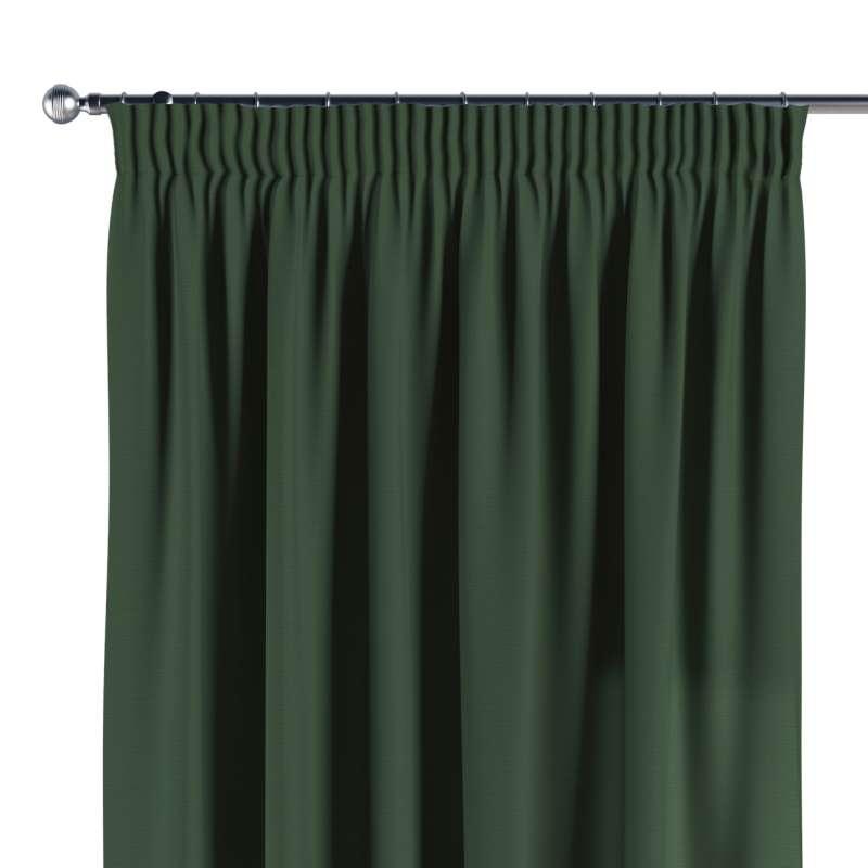 Vorhang mit Kräuselband von der Kollektion Cotton Panama, Stoff: 702-06