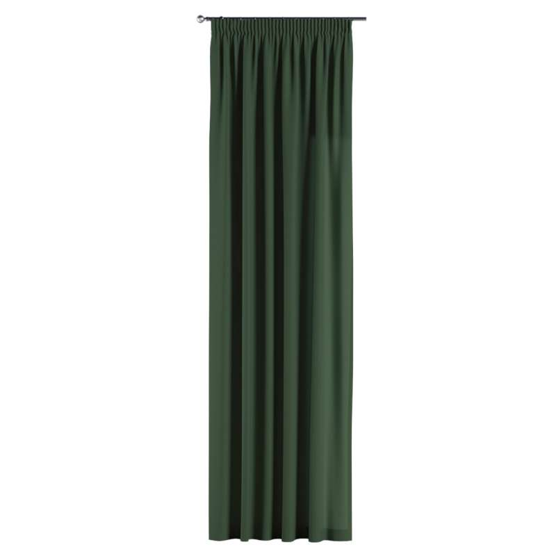 Pencil pleat curtain in collection Panama Cotton, fabric: 702-06