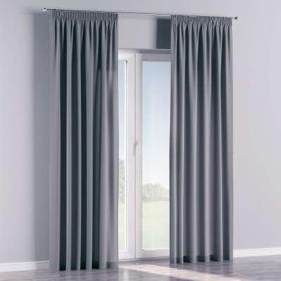 Vorhang mit Kräuselband 702-07 grau Kollektion Cotton Panama