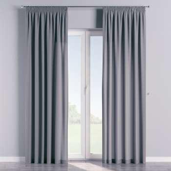 Vorhang mit Kräuselband von der Kollektion Cotton Panama, Stoff: 702-07