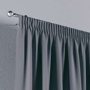 Gardin med rynkband 1 längd 130 x 260 cm i kollektionen Panama Cotton , Tyg: 702-07