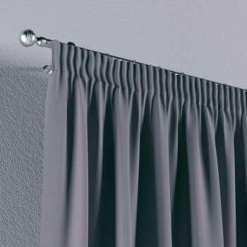 Gardin med rynkebånd 1 stk. 130 × 260 cm fra kolleksjonen Cotton Panama, Stoffets bredde: 702-07