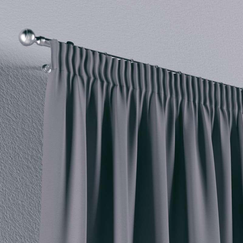 Gardin med rynkband 1 längd i kollektionen Panama Cotton, Tyg: 702-07