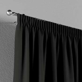 Pieštukinio klostavimo užuolaidos 130 x 260 cm (plotis x ilgis) kolekcijoje Cotton Panama, audinys: 702-08