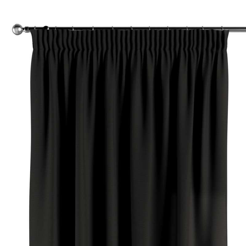 Vorhang mit Kräuselband von der Kollektion Cotton Panama, Stoff: 702-08