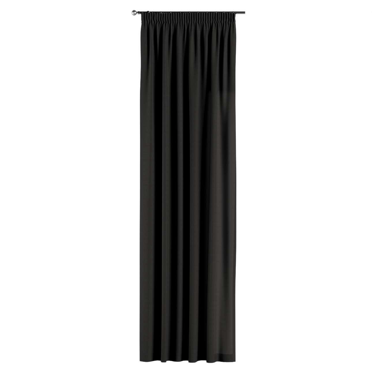 Gardin med rynkband 1 längd 130 x 260 cm i kollektionen Panama Cotton , Tyg: 702-08